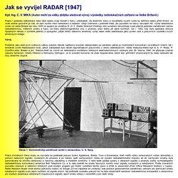 Jak se vyvíjel RADAR [1947]