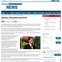 Jakarta: Advocates saved her