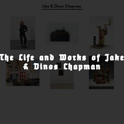 WELCUM TO OUR WEBSHITE | Jake and Dinos Chapman