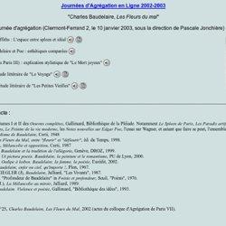 JAL 2003 - Baudelaire