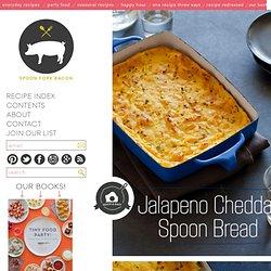 Jalepeno Cheddar Spoon Bread