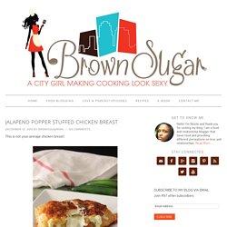 Jalapeno Popper Stuffed Chicken Breast - Brown Sugar