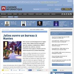 Jalios ouvre un bureau à Nantes