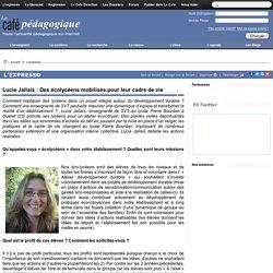 Lucie Jallais : Des écolycéens mobilisés pour leur cadre de vie