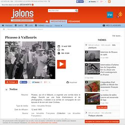 Picasso à Vallauris - Jalons pour l'histoire du temps présent