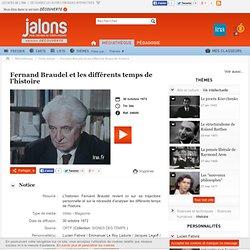 Fernand Braudel et les différents temps de l'histoire