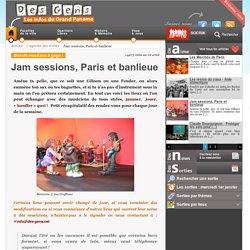 Jam sessions, Paris et banlieue