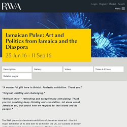 Jamaican Pulse: Art and Politics from Jamaica and the Diaspora