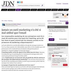 Jamais un outil marketing n'a été si mal utilisé que l'email par Frédéric Pichard - Chronique e-Business