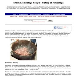 Jambalaya, Shrimp Jambalaya Recipe, Jambalaya Recipes, How To Make Jambalaya, Shrimp Recipes, Cast Iron Cooking, Louisiana Recipes, Cajun Recipes