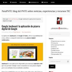 Google Jamboard: la aplicación de pizarra digital de Google — ParaPNTE