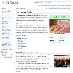 Jambon de Paris