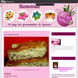 Cake jambon-fromage
