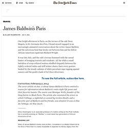 James Baldwin's Paris