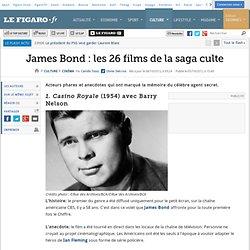 Cinéma : James Bond : Les 26 films de la saga culte