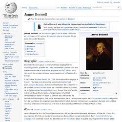 James Boswell - wikipedia