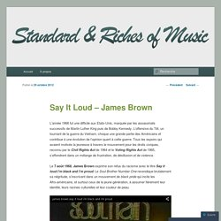 Standard and Riches of Music