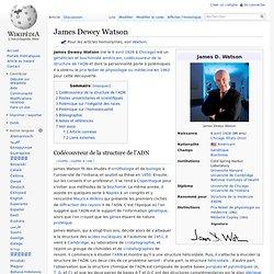 James Dewey Watson 1928-