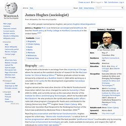 James Hughes (sociologist)