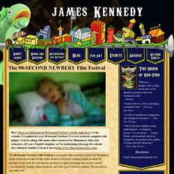 James Kennedy » 90-Second Newbery