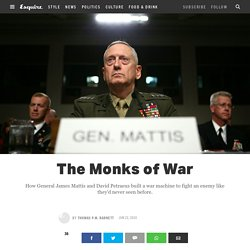 James Mattis Quotes - The Monks of War, a James Mattis Biography
