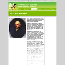 James Watt (1736-1819) - Online stuff