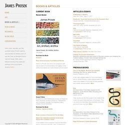 James Prosek / Books & Articles