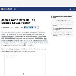 James Gunn Reveals The Suicide Squad Poster