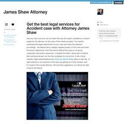 James Shaw Attorney