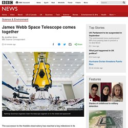 James Webb Space Telescope comes together
