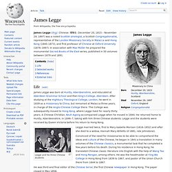 James Legge