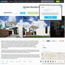 David Jameson Architect - Project - Jigsaw Residence