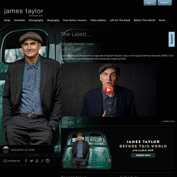 James Taylor - Official Website