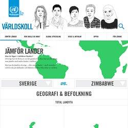 Jämför länder