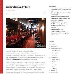 Jamie's Italian, Sydney