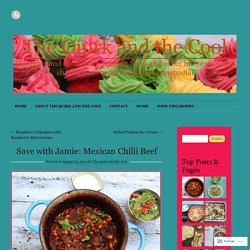 Save with Jamie: Mexican Chilli Beef