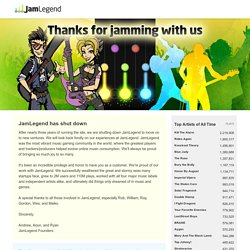 JamLegend - Music Gaming Unleashed
