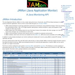 JAMon - Documentation
