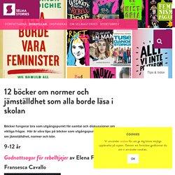 12 böcker om jämställdhet att läsa i skolan