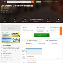 Janaharsha Group Of Companies, Abids, Hyderabad - Estate Agents For Plot - Justdial