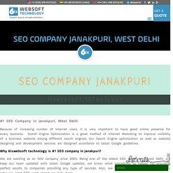 Best SEO Company JanakPuri, Delhi