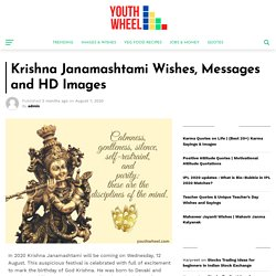 Krishna Janamashtami Wishes, Messages and HD Images - Youthwheel