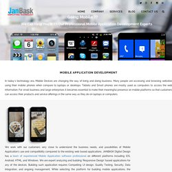 Mobile App Design & Development Company In DC - JanbaskDigitalDesign
