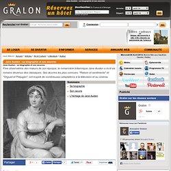 Jane Austen : sa biographie et ses oeuvres