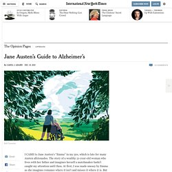 Jane Austen's Guide to Alzheimer's