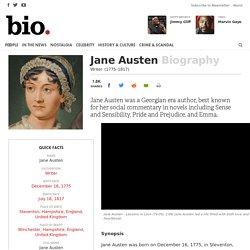 Jane Austen - Writer