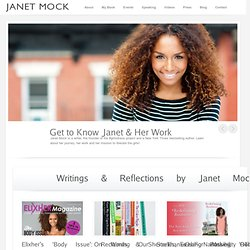 Janet Mock's Official Website and Blog