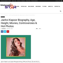 Janhvi Kapoor Biography, Age, Height, Movies & Photos
