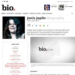 Janis Joplin's Impact on Hippy Culture