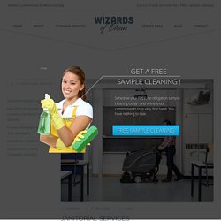 Commercial Janitorial Services - Wizards Of Cleaning